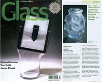GLASS / The Urban Glass & Art Quarterly - Turkish Glass - Cam Atölyesi